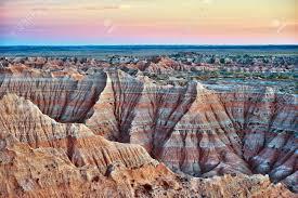 South Dakota landscapes images Badlands south dakota usa badlands landscape in hdr photography jpg