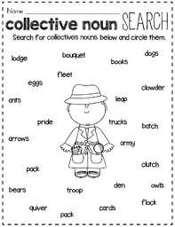 collective noun sort by rock paper scissors teachers pay teachers