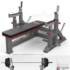 commercial weight bench u0026 bar rack u0026 weight plate rack chest press