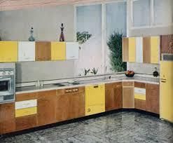 Retro Kitchen Cabinet Retro Yellow Wood Kitchen Cabinets U2014 Smith Design Finding Retro