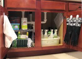 Under The Kitchen Sink Storage Under Sink Organizer For Bathroom In Seemly Under Bathroom D Over