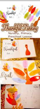 free thankful turkey thanksgiving sunday lesson and activity the