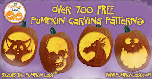 over 700 free pumpkin carving patterns and stencils