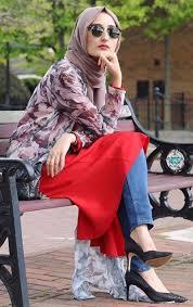 50 koleksi model baju muslim terbaru simple modis dan modern