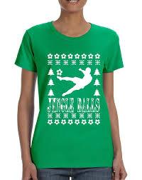 gift ideas for soccer fans women s t shirt jingle balls soccer ugly xmas sport fans gift idea