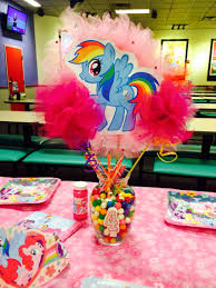 my pony party ideas my pony centerpiece mlp party pony