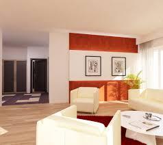 Wohnzimmer W Zburg Angebote Bilder 3d Interieur Wohnzimmer Orange Weiß U0027val Living Ref U0027 1