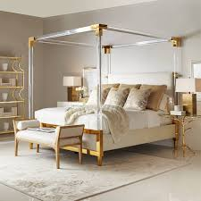 Gold Canopy Bed Gold Canopy Bed Top Interior Designer Chicago Inspired Interiors