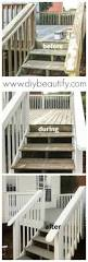 Painting A Banister White Best 25 Painted Decks Ideas On Pinterest Painted Deck Floors