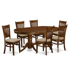 Dining Room Sets Orlando Amazon Com East West Furniture Vanc7 Esp W 7 Piece Dining Table