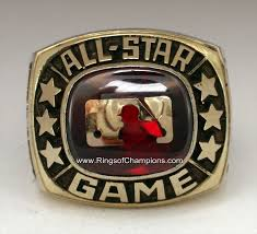all star rings images Lee macphail 39 s 1985 mlb all star game ring jpg