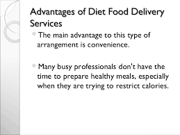advantages and disadvantages of diet meal delivery