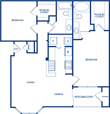 The Lenox Floor Plan 1 2 U0026 3 Bedroom Apartments In Atlanta Ga Camden Phipps