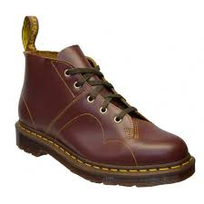 dr martens church leather unisex monkey boots all sizes in various