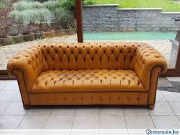 renover un canapé canapé chesterfield camel 3 personnes à rénover a vendre