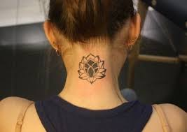 67 amazing lotus back neck tattoos