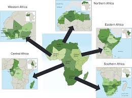 Eastern Africa Map by Climate Change Impacts On Agriculture Across Africa Oxford
