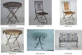 Outdoor Decor Catalog Wrough Iron Outdoor Furniture Table Chair Garden Decor Page 1