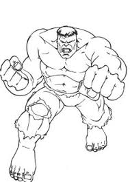 hulk hitting ground hulk coloring pages hulk