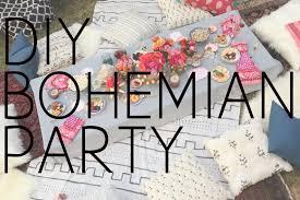 Diy Boho Home Decor Diy Bohemian Party Youtube
