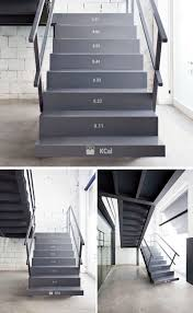 Number Stairs by These Stairs Show How Many Calories You Burn While Climbing Them