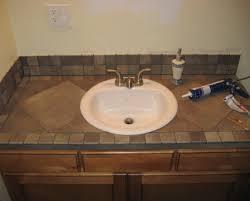 How To Install Bathroom Vanity Top Bathroom 60 Vanity Top Replace Bathroom Countertop Granite