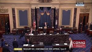 Unit Secretary Course Us Senate Confirms Steven Mnuchin Treasury Secretary Feb 13 2017