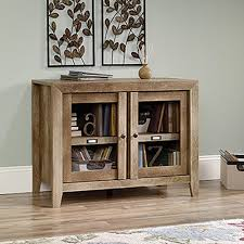 sauder dakota pass craftsman oak storage cabinet 418268 the home