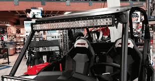 Rigid 30 Led Light Bar by Polaris Rzr Xp 1000 Rzr 900 Curved 30