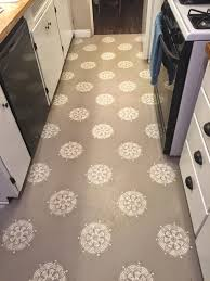Painted Kitchen Floor Ideas Astounding Sample Of Work With What You Got Painted Kitchen