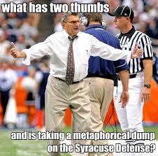 Syracuse Meme - psu football 2008 season retrospective day 3 onward state