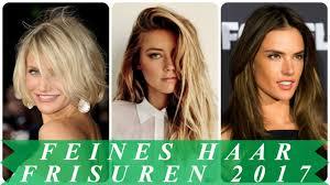 Bob Frisuren 2017 Feines Haar by Trendfrisuren Für Feine Haare 2017 Frauen