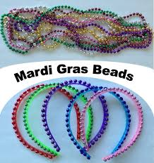 beaded headbands beaded headbands easy craft using mardi gras