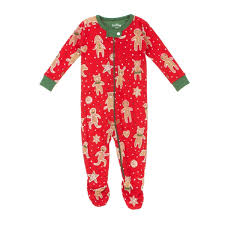 hatley holiday baby grow gingerbread free uk delivery