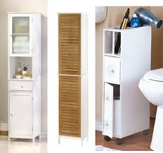 Narrow Storage Cabinet For Bathroom Small Storage On Wheels For Bathroom Narrow Bathroom Cabinets