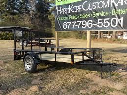 single axle 6 4 x 10 utility trailer southern sportz