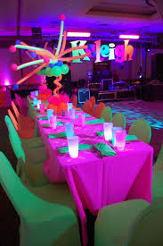 neon party ideas neon light party ideas the event that led us to win a wow award