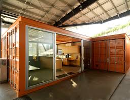 offices made from shipping containers an outside the box office