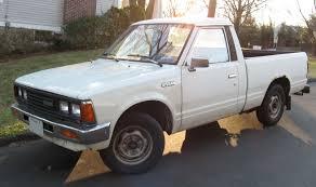 stanced nissan hardbody datsun truck