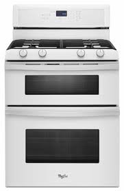 Whirlpool Cooktop Cleaner Whirlpool Freestanding Self Cleaning Double Oven White Gas Range