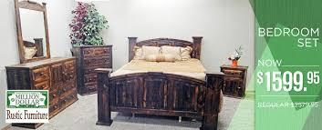 Rustic Furniture Bedroom Sets - solid rustic furniture solutions