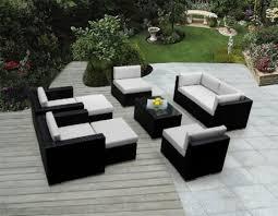 Desig For Black Wicker Patio Furniture Ideas Black Wicker Outdoor Furniture Ideas My Journey