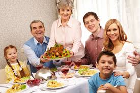 the different family members at every thanksgiving dinner