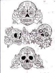 roses and sugar skull designs photo 3 2017 photo