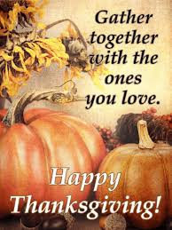 it s time to gather pumpkin happy thanksgiving card birthday