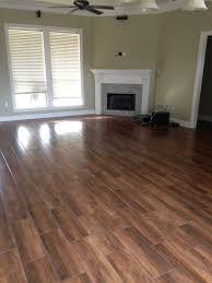 Laminate Flooring Ceramic Tile Look Wedge Job Nobile Siena 8x24 Wood Look Ceramic Tile