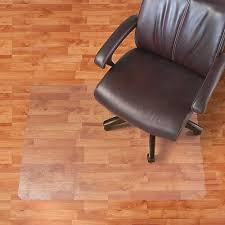 Hardwood Floor Chair Mat Realspace Hard Floor Chair Mat Rectangular 46 W X 60 D Clear By