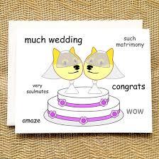 Funniest Doge Meme - funny lesbian wedding card funny doge meme funny lesbian