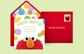 elmo birthday free sesame invitations sesame online invitations