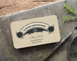 Monogram Business Cards Art Deco Business Card Calling Cards Custom Logo Bridal